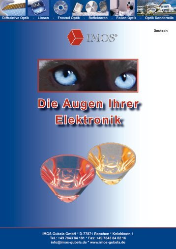 Die Augen Ihrer Elektronik