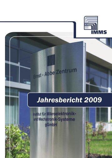 Jahresbericht 2009 - IMMS Institut für Mikroelektronik