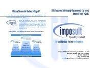 CRM (Customer Relationship Management) -  Imposult
