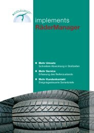 Produktprospekt als PDF - implements.de