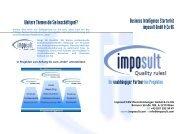 Business Intelligence Starterkit - Imposult