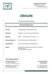 ZÄ HLEN - implements.de