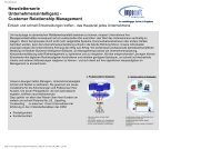 Customer Relationship Management - Imposult