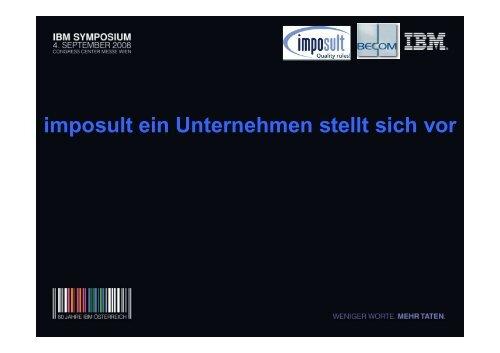 Vortrag imposult und Becom Electronics: Folien
