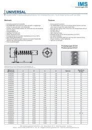 REMFORM®-Schraube D15.01 - IMS Verbindungstechnik GmbH ...
