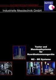 TASTER M3 MIT SILIZIUMNITRID-KUGEL - IMTEC Industrielle ...