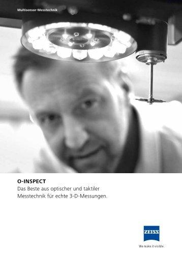 O-INSPECT Das Beste aus optischer und taktiler Messtechnik für ...