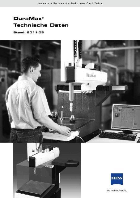 DuraMax® Technische Daten - IMTEC Industrielle Messtechnik GmbH