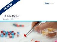 IMS GKV-Monitor - IMS Health