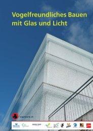 Vogelfreundliches Bauen mit Glas und Licht