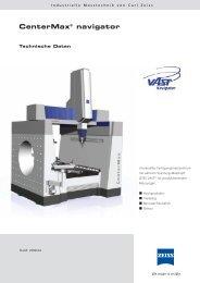 technische Daten - IMTEC Industrielle Messtechnik GmbH