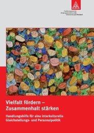 Vielfalt fördern - Zusammenhalt stärken. Handlungshilfe - IMU Institut