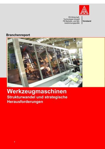 Branchenreport - IG Metall