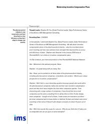 Transcript - IMS Health