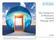 The Global Use of Medicines: Outlook - IMS Health