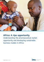 Africa: A ripe opportunity - IMS Health