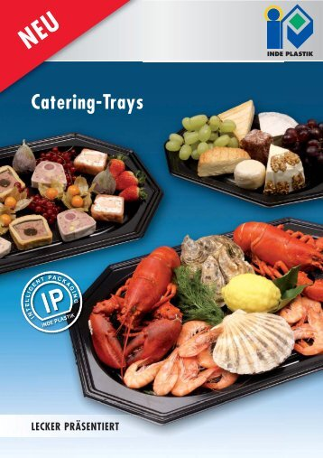 Flyer Catering Trays_NEU.indd - Inde Plastik
