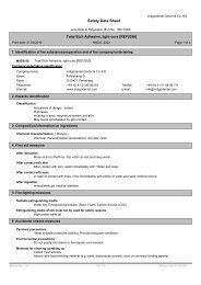 Material Safety Data Sheet - indigodental GmbH