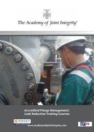 Accredited Flange Management/ Leak Reduction Training Courses