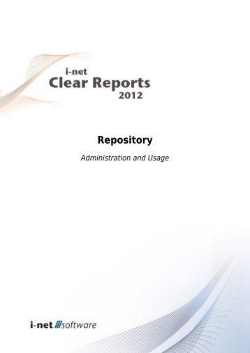 2.2 Database Repository - i-net Software