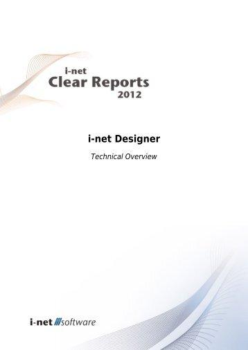 Designer Overview guide - i-net Software