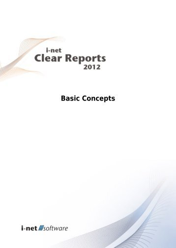 Basic Concepts Guide - i-net Software