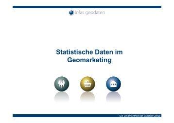 Statistische Daten im Geomarketing - infas GEOdaten