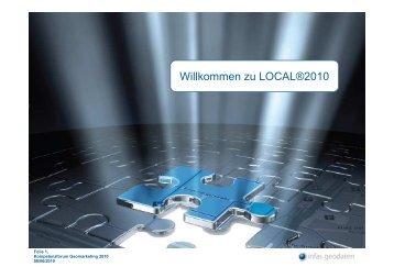 Vortrag LOCAL®2010 - infas GEOdaten