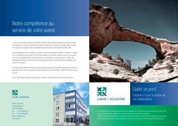 CADRZ Brochure
