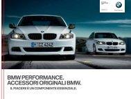 PANORAMICA BMW PERFORMANCE - Cencini SA