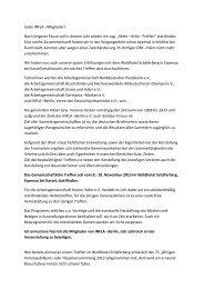 Näheres zu diesem Vorhaben lesen Sie bitte hier - INFLA-Berlin ...