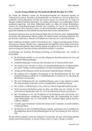 Aus der Postgeschichte der Devisenkontrollstelle Dresden Nr.4 1921