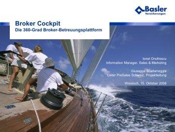 Broker Cockpit - Information Builders