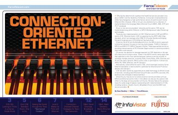 Connection Oriented Ethernet - InfoVista