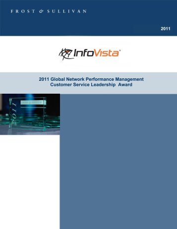 Network Performance Management Customer Service - InfoVista