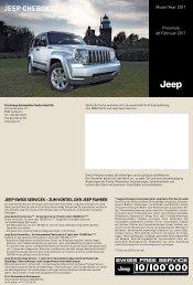 Jeep Cherokee Jeep Cherokee - City Garage Wettingen
