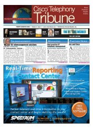 Cisco Telephony - InfoVista