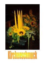 Kirchenschmuck - Blumen Burkhalter