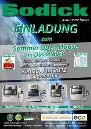 EINLADUNG Sommer Open House in Düsseldorf Erleben Sie die 5 ...