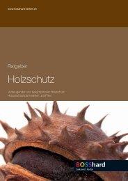 Ratgeber - Bosshard Farben