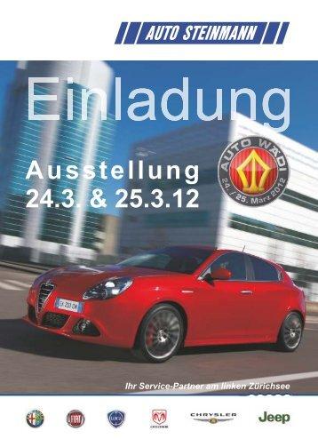 Ausstellung Alfa Romeo, Fiat, Lancia, Dodge ... - AUTO STEINMANN