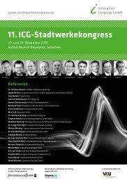 11.ICG-Stadtwerkekongress - ICG Innovation Congress GmbH