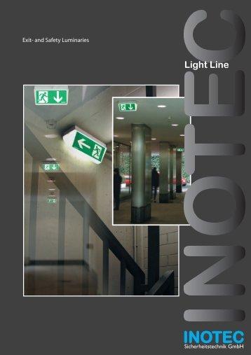 Light Line - INOTEC Sicherheitstechnik GmbH