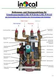 Bedienungs- und Montageanleitung für Frischwassermodul LME ...