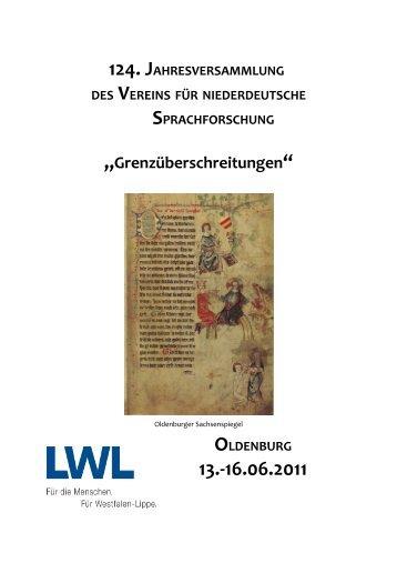 """""""Grenzüberschreitungen"""" - Institut für niederdeutsche Sprache e.V."""