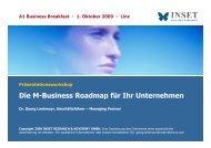Die M-Business Roadmap für Ihr Unternehmen - INSET Research ...