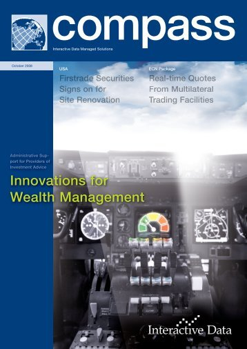 Innovations for Wealth Management - Interactive Data