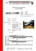Gegevensblad - Interdachnorm Scheffler GmbH & Co. KG - Page 2