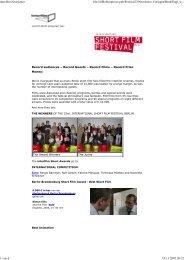 interfilm Newsletter file://///Robin/presse.pub/Festival23/Newsletter ...