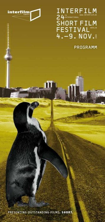 Programmheft - Interfilm Berlin